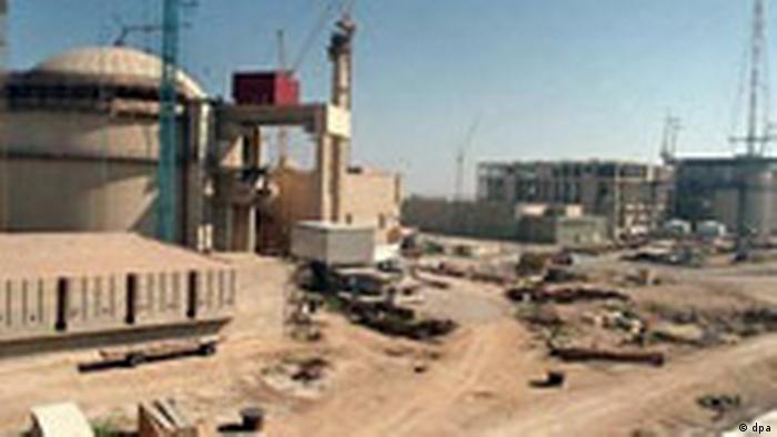 Iranisches Atomkraftwerk Buschir (dpa)