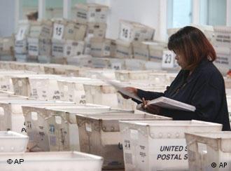 Umstritten: Stimmsortierung in Florida 2004