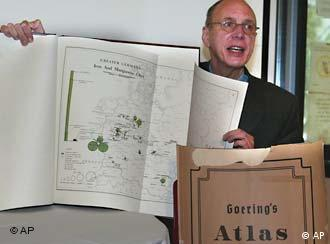 Historians believe the atlas aided US policy in postwar Germany