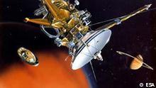 Raumfahrt Cassini Landung auf Titan