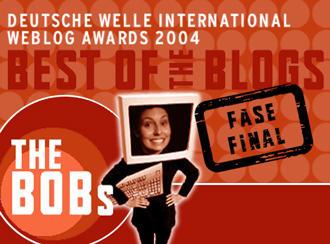 Elija Ud. también a los mejores del escenario internacional de weblogs.
