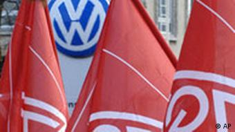 Warnstreik bei VW