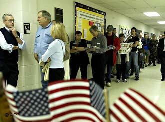The OSCE criticized the long wait to cast ballots in Ohio