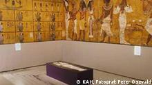 Ausstellung Tutanchamun in Bonn, Okober 2004. Foto: Peter Oszvald