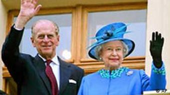 Königin Elizabeth II und Prinz Philip in Deutschland