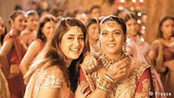 Szene aus dem Bollywood-Film In guten wie in schweren Tagen (Foto: DW)