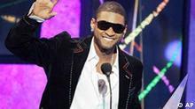 Vier Preise für Usher bei den American Music Awards in Los Angeles