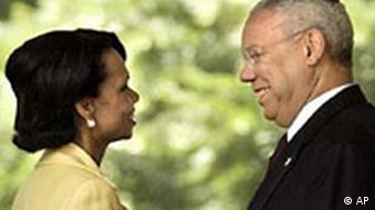 Colin Powell und Condoleezza Rice
