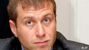 Roman Abramovich, owner of Chelsea