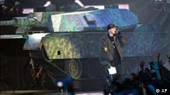 MTV Awards in Rom Eminem