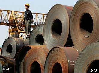 Stahl aus Schanghai