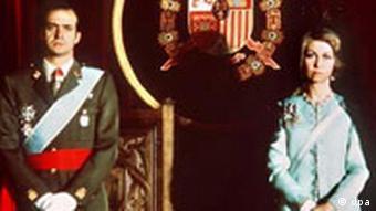 Juan Carlos von Spanien feierlich gekrönt