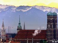 Мюнхен, вид на Frauenkirche