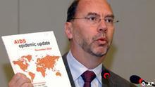 UNAIDS Generalsekretär Peter Piot AIDS-Report