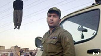 Öffentliche Hinrichtung im Iran
