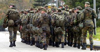 Bundeswehr-Rekruten