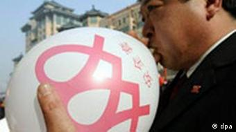 Welt AIDS-Tag in Peking