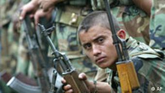 Paramilitär in Kolumbien