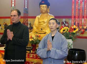 Buddhism is gaining more followers in Germany
