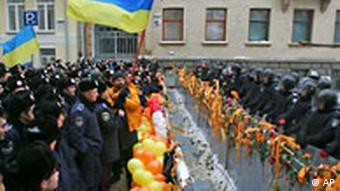 Ukraine Demonstration in Kiew