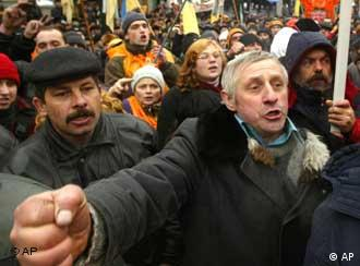 Ukraine has been in turmoil since the presidential election took place