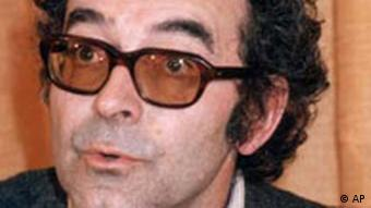 Porträt Jean-Luc Godard (AP Photo/Jean-Jacques Levy)