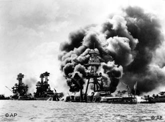 1941年12月7日日本偷袭美国太平洋舰队基地珍珠港成功