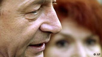Wahlen Rumänien Traian Basescu Präsidentschaftskandidat