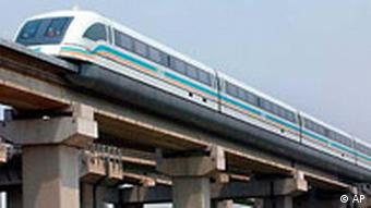 Transrapid in Schanghai