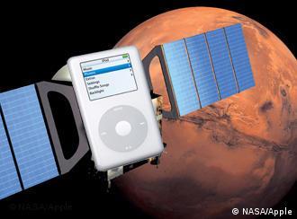Ein iPod als Satellit