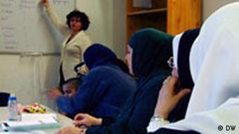 کلاسهای آموزش زبان برای مهاجران