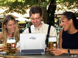 Bavarians love their beer and laptops