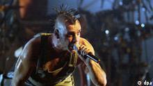 MTV-Awards in Frankfurt: Auftritt Rammstein