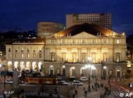 """До недавнего времени опера """"Заира"""" шла только на подмостках Италии. На фото - театр """"Ла Скала"""", Милан"""