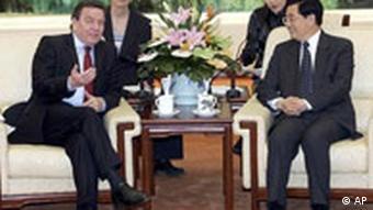 Schröder in China
