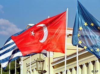 Greek and Turkish flag