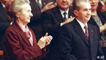 Cuplul Ceauşescu la ultimul congres din noiembrie 1989