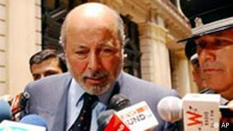 Der chilenische Richter Juan Guzman