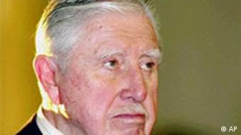 El exdictador chileno Augusto Pinochet.