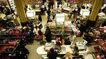 Weihnachseinkauf in New York Macy's