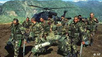 Türkische Soldaten im Irak, 1995