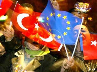 Turquía dio un paso gigantesco hacia Europa.