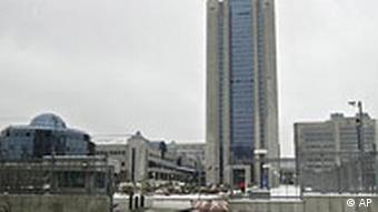 Hauptquartier von Gazprom