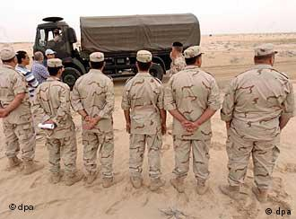 German training for Iraqi soldiers