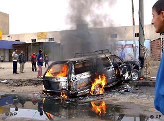 Grausamer Sonntag: Anschlag in Bagdad