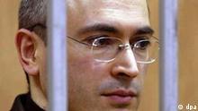 Michail Chodorkowski vor Gericht