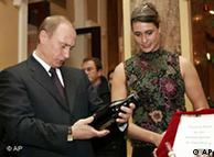 Владимир Путин в отеле Atlantic (Гамбург) 20.12.2004