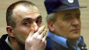 Djindjic Prozess in Beograd Zvezdan Jovanovic