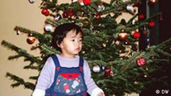 wie verbringen die auslaendischen familien weihnachten in deutschland.