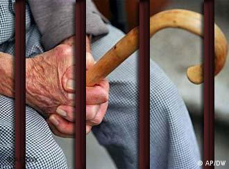 The number of seniors behind bars is rising
